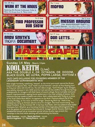 AONE w/ Kool Keith (London, UK | 2006)